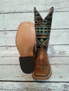 "Anderson Bean ""Santa Fe""cowboy boots."