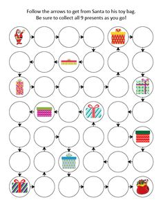 ChristmasDo-a-Dot Printables with 35 activity pages Perfect for kids ages 2+ Instant digital downloads product in PDF format Supports the development of one-to-one correspondence, shapes, colors, patterning, letters, and numbers