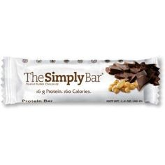 The Simply Bar Peanut Butter Chocolate, 1.4-Ounce Bar (Pack of 15) (Grocery)