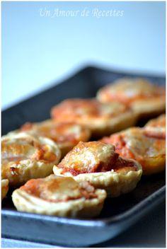 Mini tartelettes thon-mozzarella