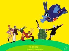 beatles yellow submarine images | Yellow Submarine Wallpaper