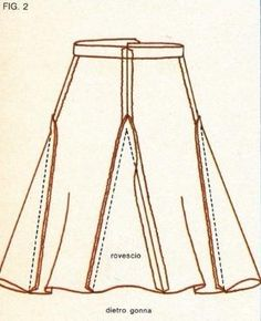 Insert 4 triangles between and on sides of legs to make a skirt. by MarylinJ