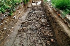 London Church Yard Plague Pit.