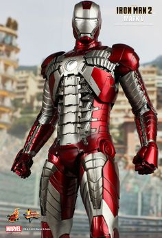 Hot Toys : Iron Man 2 - Mark V 1/6th scale Collectible Figurine