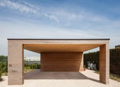 Carport Designs, Garage Design, House Design, Carport Garage, Detached Garage, Patio Gazebo, Backyard, Carport Modern, Car Barn