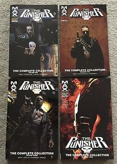 Punisher Max The Complete Collection Vol 1 2 3 4 tpb Garth Ennis Marvel Comics: $79.99 (0 Bids) End Date: Sunday Apr-1-2018 18:56:16 PDT…
