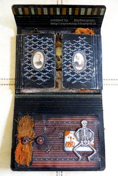yaya scrap & more: SPOOKY FOLIO!