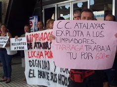 Huelga de limpieza en el Carrefour-Atalayas de Murcia