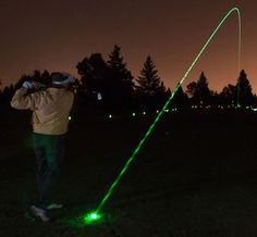 LED Golf Balls For Awesome Nighttime Playing. Night golf is fun