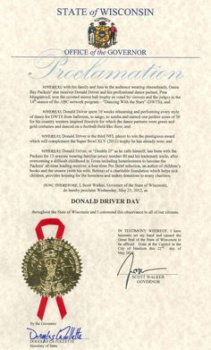 happy donald driver day!