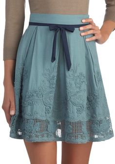 A La Food Carte Skirt. I could never wear this, but it's so pretty.