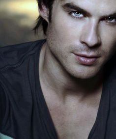 The Vampire Diaries Damon Salvatore(Ian Somerhalder) Vampire Diaries Damon, Ian Somerhalder Vampire Diaries, Vampire Dairies, Vampire Diaries The Originals, Ian Somerhalder Young, Nikki Reed, Christian Grey, Robert Pattinson, Beautiful Eyes