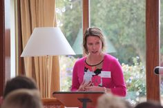 Helen Tate, Research Manager at Cumbria Tourism speaking at the 2015 Eden Tourism Summit.