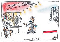 LNP ( LIARS NASTY PARTY ) CONTRIBUTION TO CLIMATE CHANGE. Cartoon by BRUCE PETTY