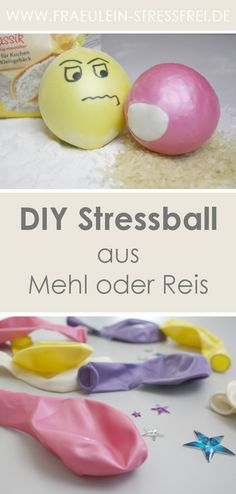 Today is tinkering - DIY stress ball - Cool Crafts 😎 Diy Crafts For Adults, Diy Crafts For Gifts, Fun Crafts For Kids, Diy For Kids, Handmade Crafts, Diy Stressball, Anti Stress Ball, Balle Anti Stress, Diy Pinterest