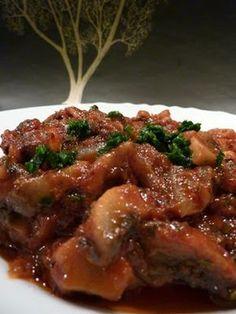 Kiskonyhám ízei: Svédgomba saláta Hungarian Recipes, Hungarian Food, Chicken Wings, My Recipes, Healthy Life, Food And Drink, Pork, Vegetarian, Beef