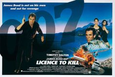 James Bond movie poster: Licensed To Kill (1989)