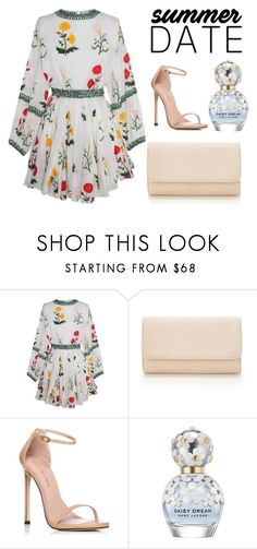 """Simple summer date"" by alice-rosee on Polyvore featuring beauty, Stuart Weitzman and Marc Jacobs"