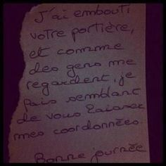 Petits mots doux entre vecinos Funny Quotes, Funny Memes, Jokes, Haha, Take A Smile, Funny Letters, Let's Have Fun, Very Funny, Can't Stop Laughing