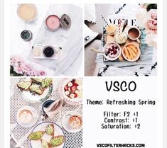 """Find and save images from the """"VSCO"""" collection by staying strong♡ (augustoswife) on We Heart It, your everyday app to get lost in what you love. Vsco Feed, Best Vsco Filters, Insta Filters, Filters Instagram, Vsco Filters Summer, Instagram Theme Vsco, Instagram Themes Ideas, Food Instagram, Vsco Gratis"""