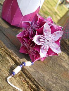 origami - móvil y caja cilíndrica