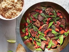 A great stir-fry needs only 2 or 3 vegetables as the base; any more would slow cooking and interfere with the sear, or keep other element...