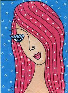 dots n doodles: 29 Faces Art Challenge - #20