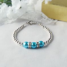 The TRIIIXXY Bracelet This One's in Turquoise- Mix and Match -- One Two or a Set of Three