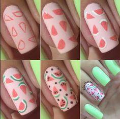 2 Tutoriales para hacer diseños hermosos en nuestras uñas ~ Manoslindas.com