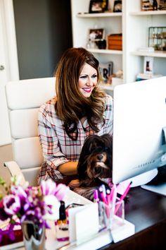 Style At Home: Corri McFadden   theglitterguide.com