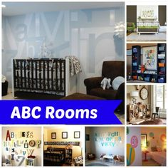 Alphabet Themed Room