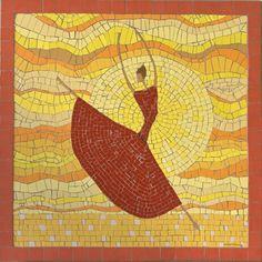 Χορεύοντας στον ήλιο / mosaic