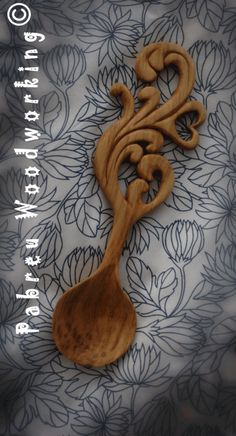 Love Spoon Carved by hand