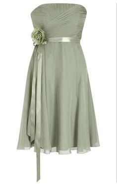 Chiffon sage green bridesmaid dress party dress by AFairyland, $86.00