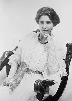 Clara Clemens, daughter of Mark Twain