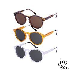 Comece o fim de semana com os modelos Jam de Jazz & Co. Disponível nas 3 cores. Para adquirir nos contate: contato@wearjazz. com (62)8223-6752(wpp) #soujazz #sunglasses #eyewear #wearjazz#shades