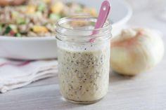Farro Salad with Creamy Vidalia Poppyseed Dressing