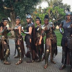 Behind the scenes of Wonder Woman, the Amazons