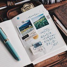"@lihaopaper on Instagram: ""寫寫字 字裡的世界 世界中的文字 書寫的樂趣 許久前想做個東西 腦海裡的雛形一直無法定型 透過寫字試圖找尋新方式"" Travel Journals, Good Day, Buen Dia, Good Morning, Hapy Day, Travel Magazines"
