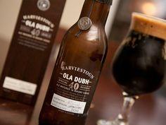 Harviestoun Brewery - Ola Dubh 40 8,0% 33cl pullo 1/2 Akin kanssa 7.7.2009 Kaisla (aged Highland Park 40 years cask)