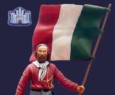 Anche la ditta La Fortezza di Milano propone diversi figurini con soggetto Giuseppe Garibaldi.