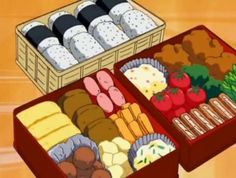Anime Bento, Food Drawing, Aesthetic Food, Food Diary, Bento Box, Food Illustrations, Food Porn, Food And Drink, Favorite Recipes