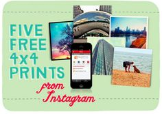 Get 5 FREE Instagram Prints from Walgreens!