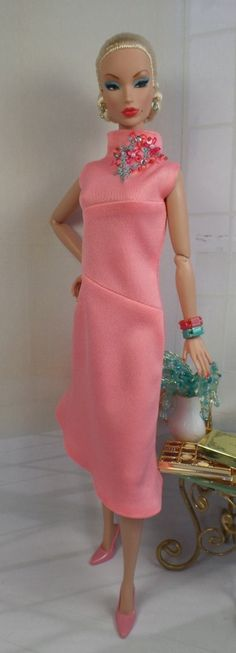 Sheela for Silkstone BarbiePoppy Parker and by MatisseFashions, $65.00