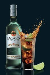 how to make bacardi and coke
