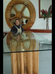 Recycled antique pine molds made into original furniture by Peter Crutchfield Wildwood Designs Sydney