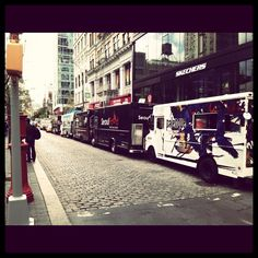 Food Trucks at Union Square