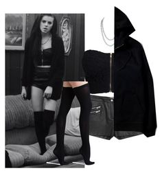 """""""Lynn Gun From PVRIS"""" by bloodyvampire-188 ❤ liked on Polyvore featuring NLY Trend, Chanel, MANGO, Kenzo, Commando, celebstyle, myhouse, Pvris and lynngunn"""