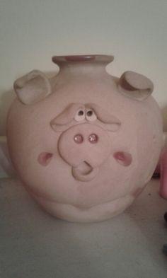 Piggy bank I got in the Smokey Mountains.