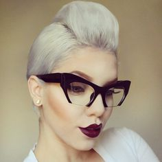 Those glasses!!!
